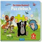 Trötsch Der kleine Maulwurf Puzzlebuch mit 4 Puzzle Maulwurf