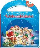 Trötsch Pappenbuch mit Henkel und CD Meine ersten Weihnachtslieder
