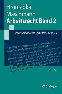 Arbeitsrecht Band 2 (eBook, PDF) - Hromadka, Wolfgang; Maschmann, Frank