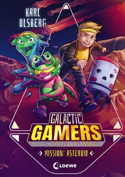 Buch-Reihe Galactic Gamers