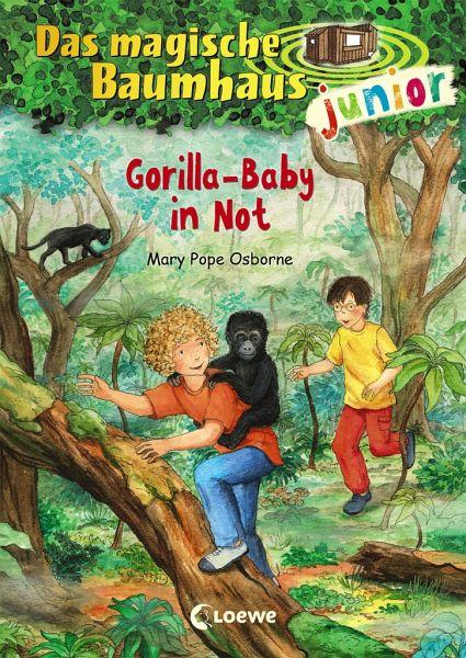 Gorilla-Baby in Not / Das magische Baumhaus junior Bd.24