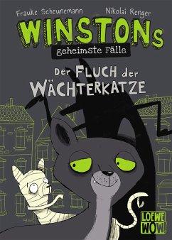 Winstons geheimste Fälle (Band 1) - Der Fluch der Wächterkatze - Scheunemann, Frauke
