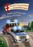 Leselöwen - Das Original - 7-Minuten-Geschichten zum Lesenlernen - Polizei und Feuerwehr im Einsatz