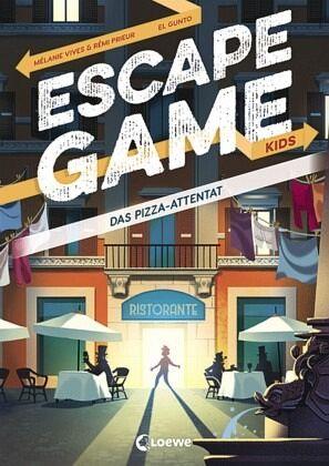Buch-Reihe Escape Game Kids