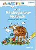 LERNSTERN Mein Kindergarten-Malbuch. Ausmalen nach Symbolen ab 4 Jahren (Mängelexemplar)