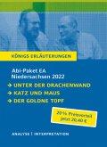 Abitur Deutsch Niedersachsen 2022 EA - Königs Erläuterungen-Paket