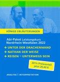 Abitur Deutsch NRW 2022 LK - Königs Erläuterungen-Paket / Leistungskurs - Nordrhein-Westfalen