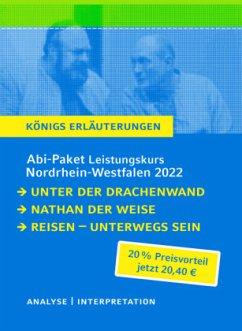 Abitur Deutsch NRW 2022 LK - Königs Erläuterungen-Paket / Leistungskurs - Nordrhein-Westfalen - Geiger, Arno;Lessing, Gotthold Ephraim;Bernhardt, Rüdiger