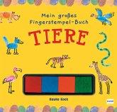 Mein großes Fingerstempel-Buch - Tiere