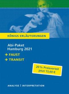 Abitur Deutsch Hamburg 2021 - Königs Erläuterungen-Paket - Goethe, Johann Wolfgang von; Seghers, Anna