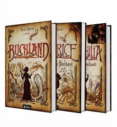 Buchland Band 1-3: Buchland / Beatrice. Rückkehr ins Buchland / Bibliophilia. Das Ende des Buchlands: Die komplette Trilogie (eBook, ePUB) - Walther, Markus