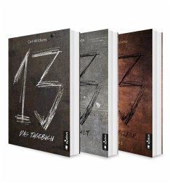 Dreizehn Band 1-3: Das Tagebuch / Die Anstalt / Das Spiegelbild (eBook, ePUB) - Wilckens, Carl