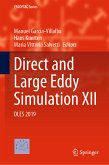 Direct and Large Eddy Simulation XII (eBook, PDF)