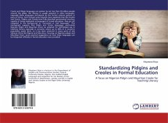 Standardizing Pidgins and Creoles in Formal Education