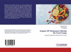 Impect Of Potassium Nitrate On Fruit Crops