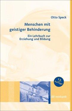 Menschen mit geistiger Behinderung (eBook, ePUB) - Speck, Otto