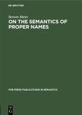 On the Semantics of Proper Names