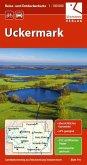 Reise- und Entdeckerkarte Uckermark 1:100.000