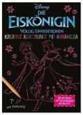 Disney Die Eiskönigin: Kreative Kratzkunst mit Anna und Elsa (Restauflage)
