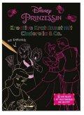 Disney Prinzessin: Kreative Kratzkunst mit Cinderella & Co., m. Kratzstift (Restauflage)
