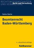 Beamtenrecht Baden-Württemberg (eBook, ePUB)