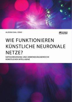 Wie funktionieren künstliche neuronale Netze? Kategorisierung und Anwendungsbereiche künstlicher Intelligenz (eBook, PDF)