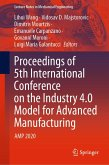 Proceedings of 5th International Conference on the Industry 4.0 Model for Advanced Manufacturing (eBook, PDF)