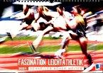 Faszination Leichtathletik: Schneller, höher, weiter (Wandkalender 2021 DIN A4 quer)