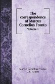 The correspondence of Marcus Cornelius Fronto