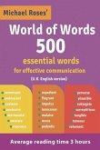 World of Words 500: (U.K. English version)