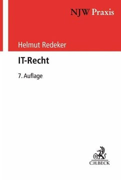 IT-Recht - Redeker, Helmut