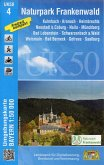 Topographische Karte Bayern Naturpark Frankenwald