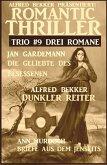 Romantic Thriller Trio #9 - Drei Romane (eBook, ePUB)