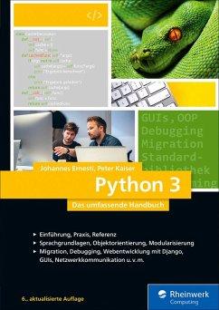 Python 3 (eBook, ePUB) - Ernesti, Johannes; Kaiser, Peter