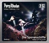 Die Sporenschiffe / Perry Rhodan Silberedition Bd.114 (2 MP3-CDs)