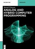 Analog and Hybrid Computer Programming (eBook, ePUB)