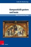 Komparatistik gestern und heute (eBook, PDF)