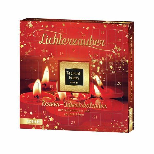 ROTH 80289 Kerzen Adventskalender Lichterzauber 2020