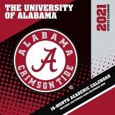 Alabama Crimson Tide 2021 12x12 Team Wall Calendar