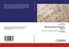 Mathematical Methods. Part 1