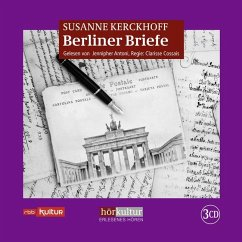 Berliner Briefe, 3 Audio-CD - Kerckhoff, Susanne