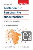 Leitfaden für Personalräte Niedersachsen (eBook, PDF)
