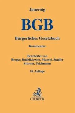 Bürgerliches Gesetzbuch - Jauernig, Othmar