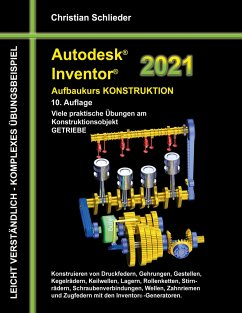 Autodesk Inventor 2021 - Aufbaukurs Konstruktion