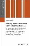 Bindung und Sozialisation während der Adoleszenz (eBook, PDF)