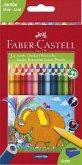 Faber-Castell Buntstift dreikant Jumbo 5.4mm 24er Karton