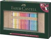 Faber-Castell Farbstift Polychromos 30er Stifterolle + Zubehör, 34-teilig