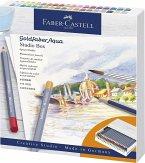 Faber-Castell Aquarellstift Goldfaber Aqua Atelierbox, Studiobox