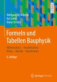 Formeln und Tabellen Bauphysik