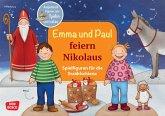 Emma und Paul feiern Nikolaus. Spielfiguren für die Erzählschiene